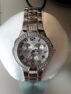 Guess Analog Watch silver-colored stainless steel