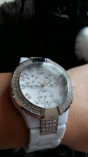 Guess Reloj analógico blanco