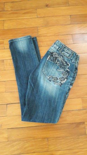 Guess Daredevil Skinny Leg Jeans 25 26 32 wie neu