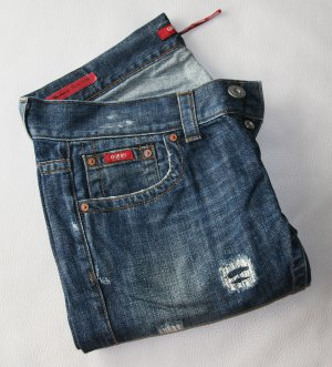 ♥ GUESS - Destroyed Jeans, used look