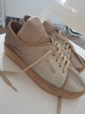 Guess Espadrille Sandals gold-colored-light brown