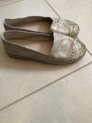 Guess Zapatos sin cordones color oro-beige