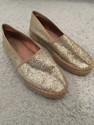 Guess Ballerinas gold-colored