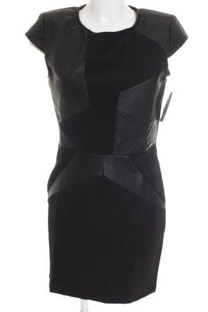 Guess Vestido ceñido de tubo negro elegante