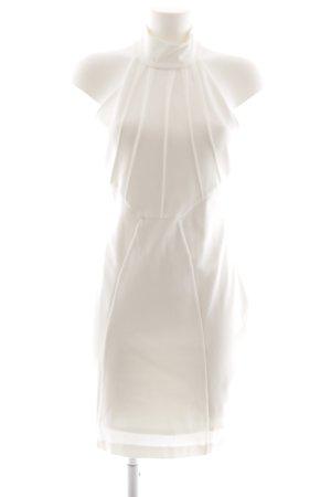 Guess Vestido ceñido de tubo blanco puro-blanco elegante