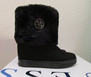Guess Botas negro piel artificial