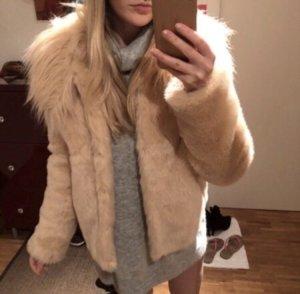 Guess Fur Jacket pink