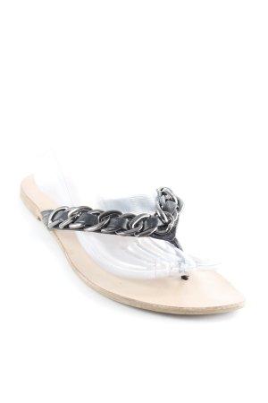 Guess Flip Flop Sandalen schwarz Casual-Look