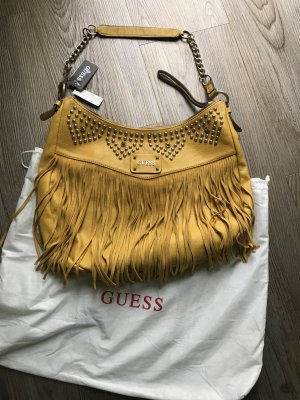 Guess Borsa giallo scuro