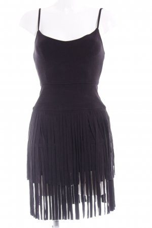 Guess Fringed Dress black Boho look