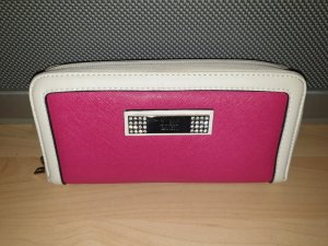 Guess Portefeuille rouge framboise-magenta