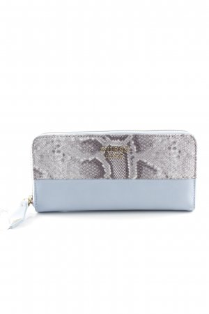 Guess Wallet pale blue-light grey extravagant style