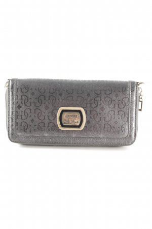 Guess Cartera gris oscuro-color plata look Street-Style