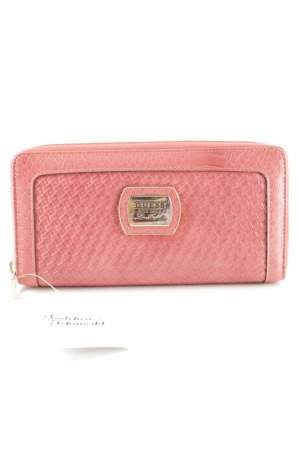 Guess Cartera magenta estampado de animales estampado animal
