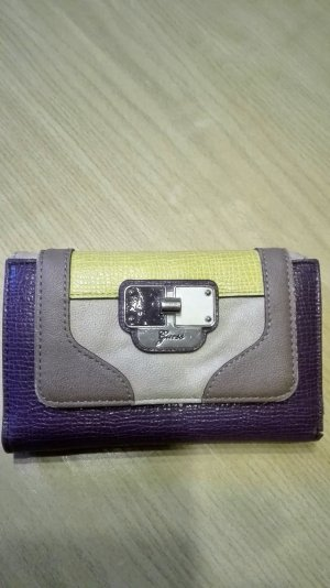 Guess Wallet multicolored synthetic material