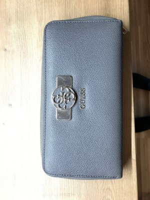 Guess Wallet light grey imitation leather
