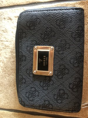 Guess Wallet black imitation leather