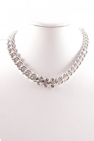 Guess Link Chain silver-colored-black elegant