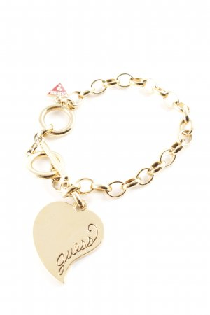 Guess Goldarmschmuck goldfarben Casual-Look