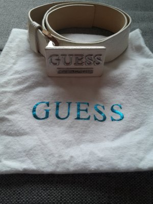Guess by Marciano Belt oatmeal-natural white