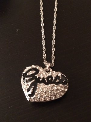 Guess Halskette Silber