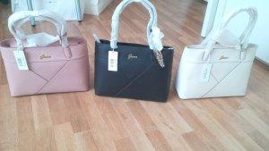 Guess Hand Taschen neu mit Etikett schwarz beige/weiß, rosa
