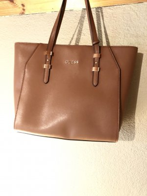 Guess Shopper cognac
