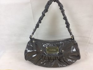 Guess Bolso barrel gris oscuro-color plata
