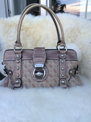 Guess Frame Bag camel mixture fibre