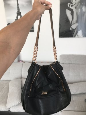 Guess Handtasche aus Leder und Roségold