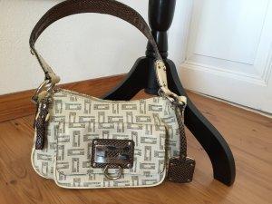GUESS Handtasche beige/braun