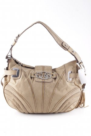 Guess Bolso beige look casual