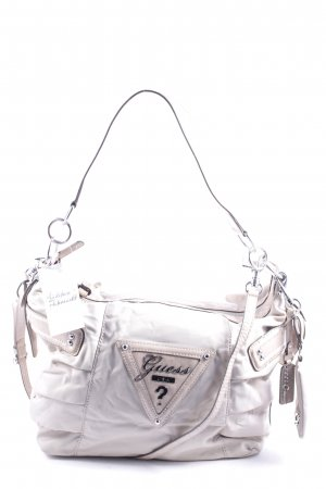 Guess Handtasche beige Street-Fashion-Look