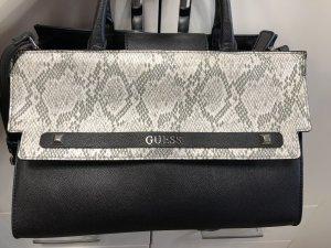 Guess Handtasche Black/White