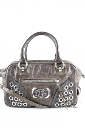Guess Bolso marrón-color plata look casual