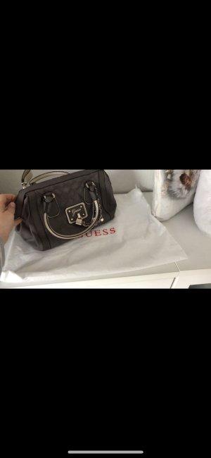 Guess Bolso marrón oscuro-crema