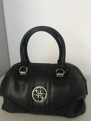 Guess Bolso barrel negro
