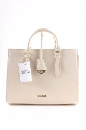 Guess Handbag cream elegant