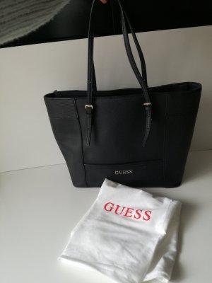 Guess Handtasche Delaney Medium Classic Tote Black