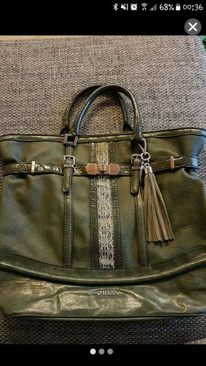 Guess Handtasche dunkelgrün