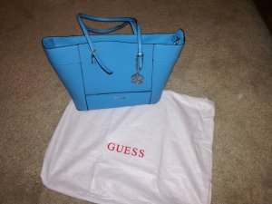 Guess Handbag light blue