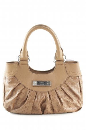 Guess Bolso marrón claro-camel look casual