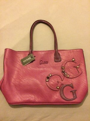 Guess Handtasche in lila