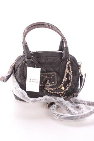 "Guess Handtasche ""Liane Amour Dome Satchel Bag"" schwarz"