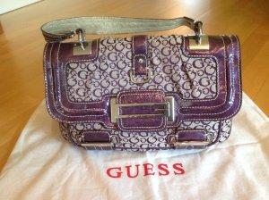 Guess Bolso violeta grisáceo Imitación de cuero
