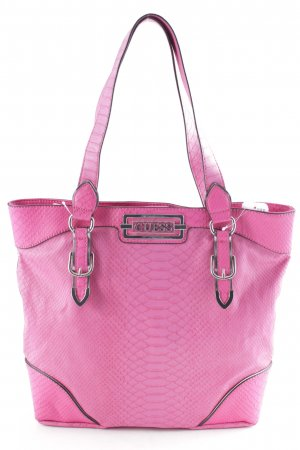 Guess Bolso magenta look casual