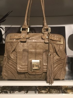 Guess Satchel beige-gold-colored