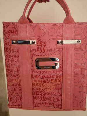 Guess Bolso barrel rosa