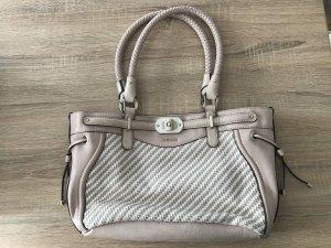 Guess Handtasche rosa/weiß