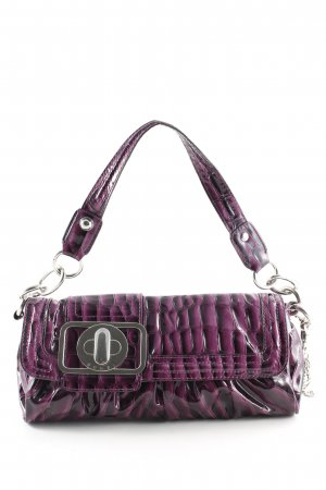 Guess Bolso negro-lila degradado de color look casual